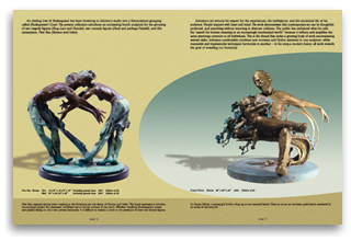 Sculpture Catalog pgs 2 to 3