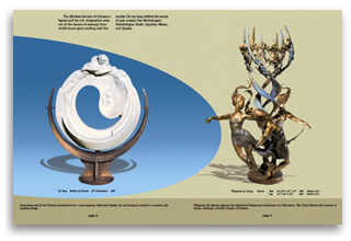 Sculptur catalog pgs 4 to 5